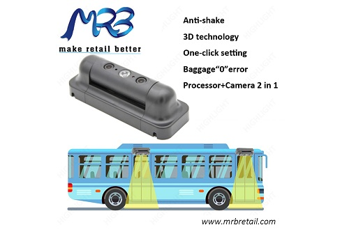 3D Automatic Passenger Counting system Camera for buses