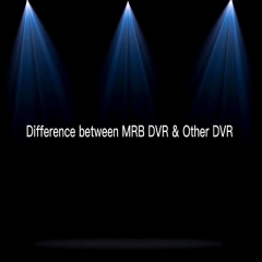 Difference between MRB Vehicle black box dvr/ vehicle dvr black box with other dvr
